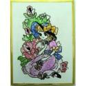 Jumbo Girl's Velvet Poster