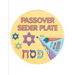 PESACH COLOR MY PLATE