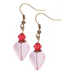 Heart Earring Equisite Jewelry kits